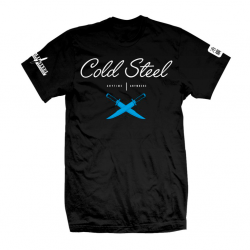 Футболка Cold Steel Cursive Black Tee Shirt TJ